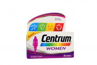 Centrum Women Caja Con 30 Tabletas