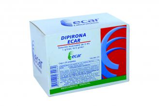 Dipirona 1 g / 2 mL Caja Con 25 Ampollas Rx
