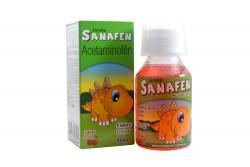 Sanafen Cereza Jarabe Caja Con Frasco Con 90 mL
