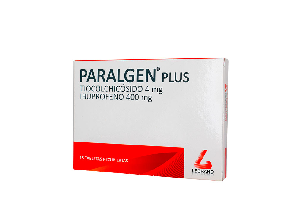Paralgen Plus Tableta Caja X 15