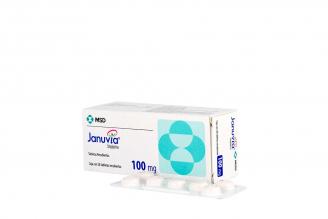 Januvia 100 mg Caja Con 28 Tabletas Recubiertas Rx4