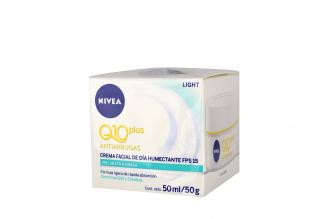 Crema Antiarrugas Nivea Q10 Plus Día Caja Con Frasco Con 50 mL