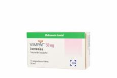 Vimpat 50 mg Caja Con 14 Comprimidos Rx4