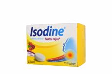 Isodine Frutos Rojos Caja X 60 Tabletas