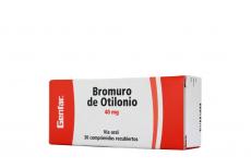 Bromuro De Otilonio 40 mg Caja Con 30 Comprimidos Recubiertos RX