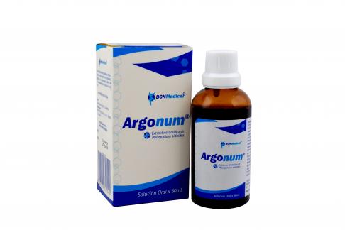 Argonum Solución Oral Caja Con Frasco Con 50 mL Rx