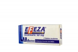 Efeza 50 Mg Caja Con 2 Tabletas Rx
