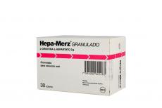 Hepa-Merz Granulado 3 g  Caja Con 30 Sobres Rx