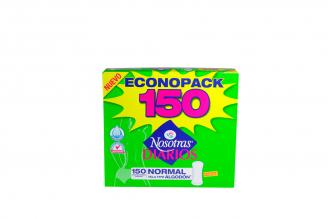 Protectores Nosotras Diario Econopack Caja Con 150 Unidades