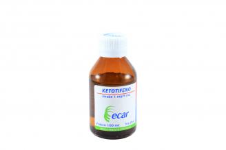 Ketotifeno 1 mg Frasco X 100 mL Rx