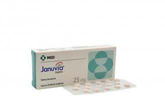 Januvia 25 mg Caja Con 28 Tabletas Recubiertas Rx4