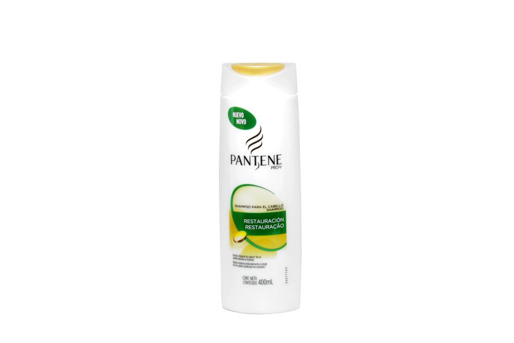 Shampoo Pantene Fórmula ProVitaminas Frasco Con 400 mL - Restauración