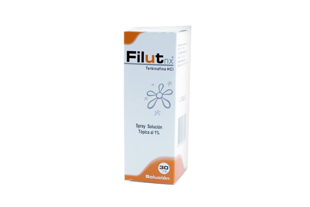 Filut nx Solución Tópica 1 % Nevox Caja Con Tubo 30 mL