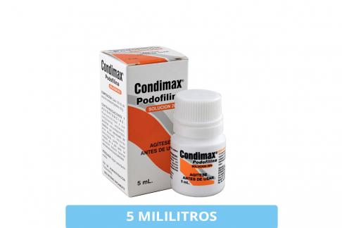 Condimax Caja Con Frasco Con 5 mL Rx