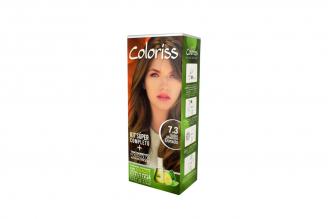 Coloriss Tinte Permanente Caja Con Tubo Con 50 g – Color Rubio Medio Dorado