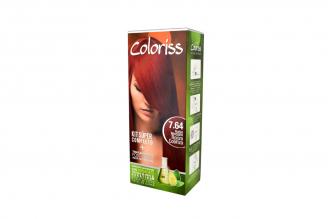 Coloriss Tinte Permanente Caja Con Tubo Con 50 g – Color Rubio Medio Rojo