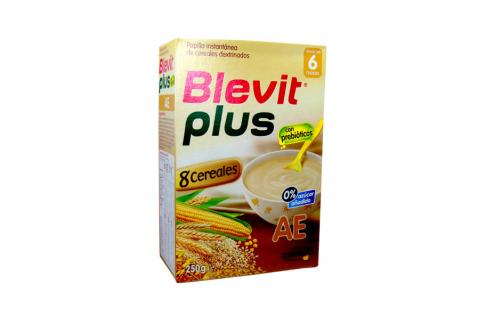 Blevit Plus AE Papilla Desde los 6 meses Caja Con 250 g
