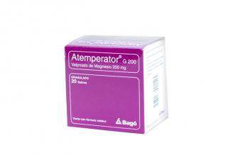 Atemperator G Granulado 200 mg Caja Con 20 Sobres Rx4
