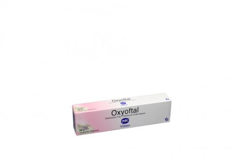 Oxyoftal 5% Ungüento Oftálmico Tubo X 10 g Rx2
