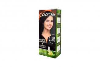 Coloriss Tinte Permanente Caja Con Tubo Con 50 g – Color Negro