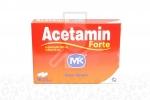 ACETAMIN FORTE MK  X 16 TABLETAS RECUBIERTAS