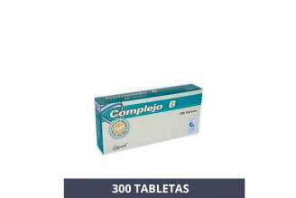 Complejo B Caja Con 300 Tabletas Rx