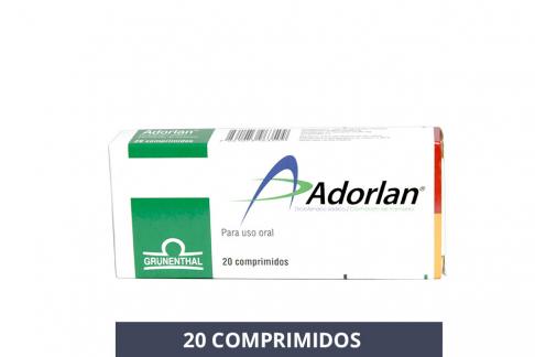 Adorlan Caja Con 20 Comprimidos