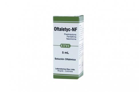 Oftaletyc NF Caja Con Frasco X 5 mL Rx