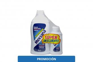 Mexsana Antibacterial Talco Desodorante x 2 unidades