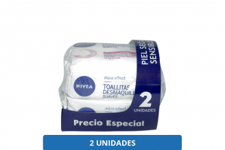 TOALLITAS DESMAQUILLANTES - 2X25 UNIDADES