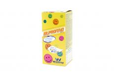 Ibuprofeno Niños 100 mg / 5 mL Suspensión Saborizada Frasco Con 120 mL - Tutti Frutti