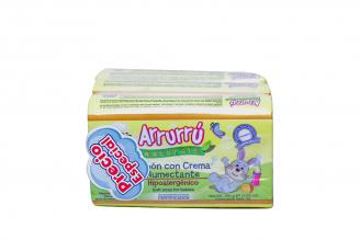 Arrurrú Jabón Con Crema Humectante  Pack Con 3 Barras