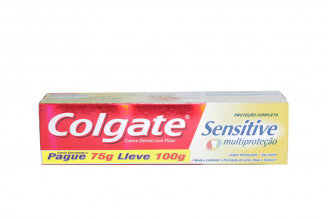 Colgate Sensitive Multi Protección Caja Con Tubo Con 100 g
