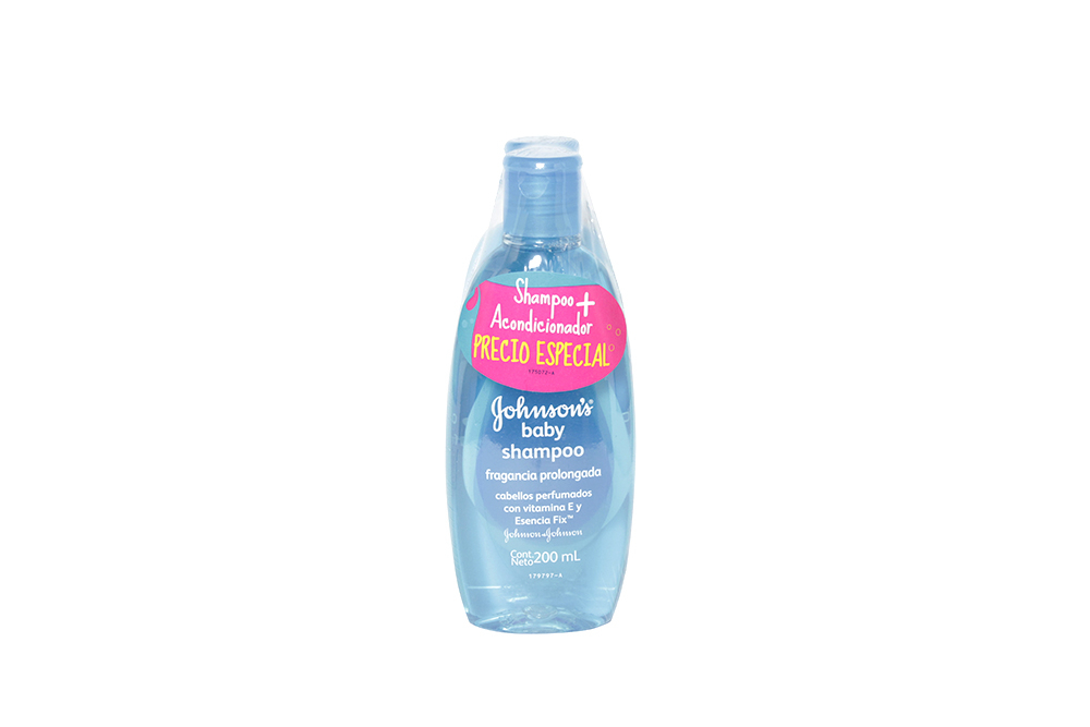 Shampoo Johnson's Baby Frasco Con 200 mL
