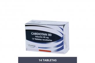 Cardiotan 80 mg Caja Con 14 Tabletas Recubiertas Rx