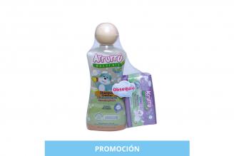 Shampoo Arrurrú Naturals Cremoso Frasco Con 220 mL + Obsequio