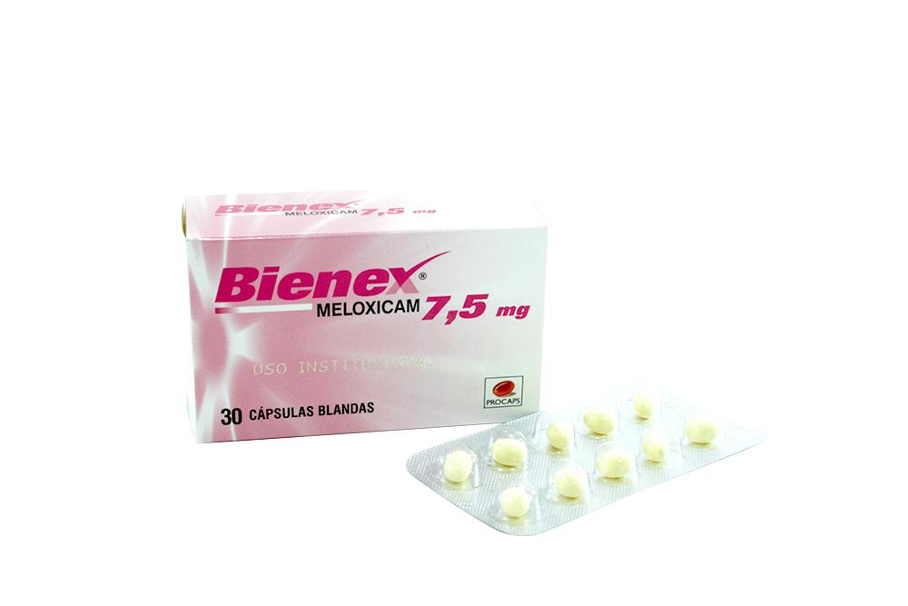 Bienex 7.5 mg Caja Con 30 Cápsulas Rx