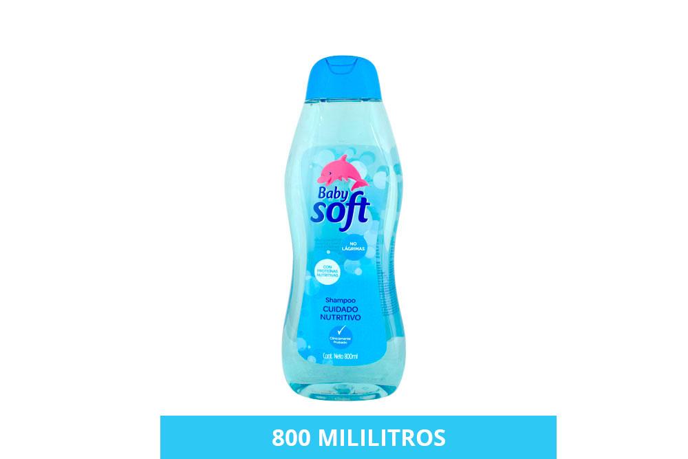 Shampoo Baby Soft Cabello Nutritivo Frasco Con 800 mL