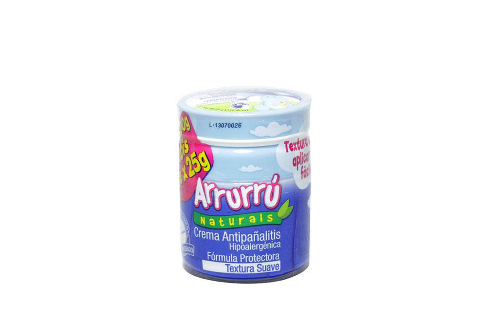 Arrurrú Naturals Crema Antipañalitis Tarro Con  100 g