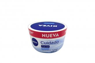 Crema Facial Nivea Cuidado Nutritivo Tarro Con 100 mL