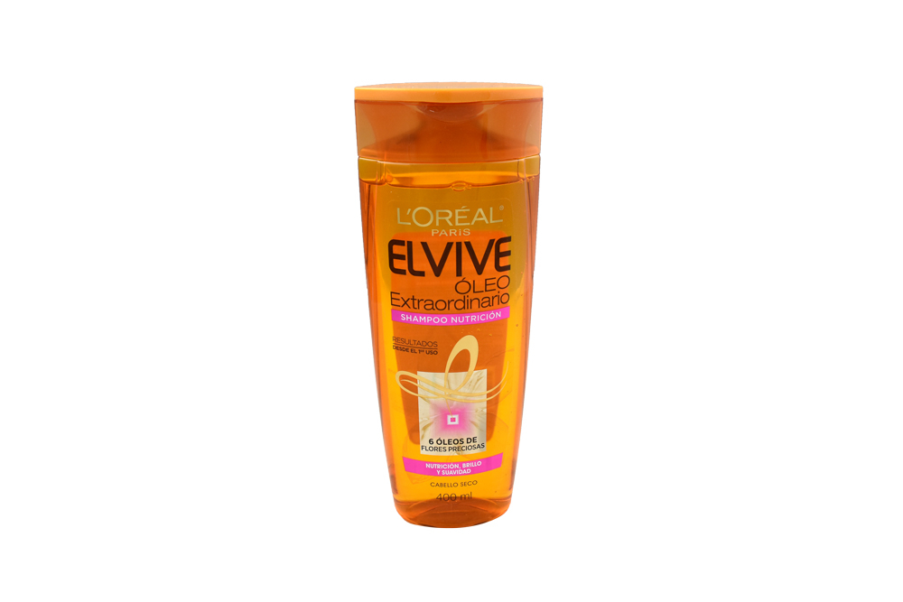 Shampoo Elvive Oleo Extraordinario Frasco Con 400 mL