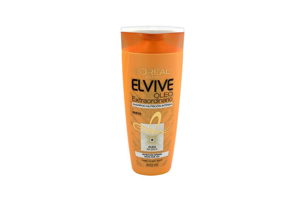 Shampoo Elvive Oleo Frasco Con 400 mL