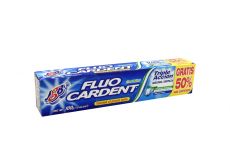 Crema Dental Fluo Cardent Máxima Limpieza Caja Con Tubo Con 100 g