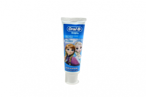 Crema Dental Oral B Stages Frozen Tubo Con 75 mL