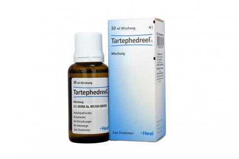 Tartephedreel N Solución Oral Caja Con Frasco Con 30 mL Rx