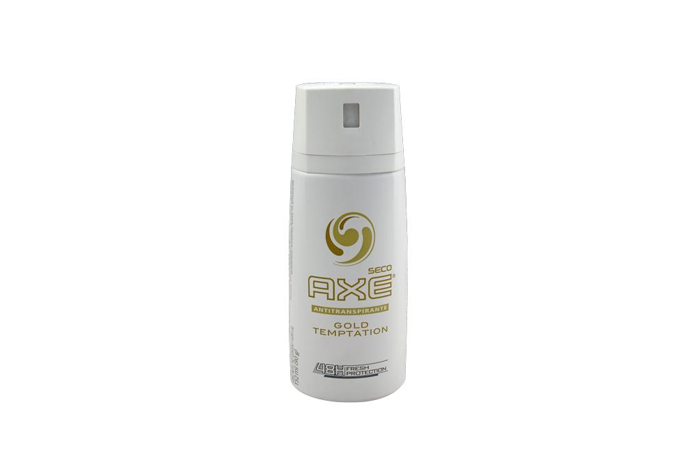 Desodorante Axe Seco Gold Temptation 48h Frasco Con 150 mL - Fresh Protection