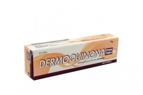Dermoquinona Crema Tópica Caja Con Tubo 30 g Rx