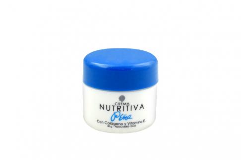 Crema Peña Nutritiva Colágeno Vitamina E Frasco Con 30 g