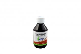 Salbutamol 2 mg Jarabe Caja Con Frasco Con 120 mL Rx