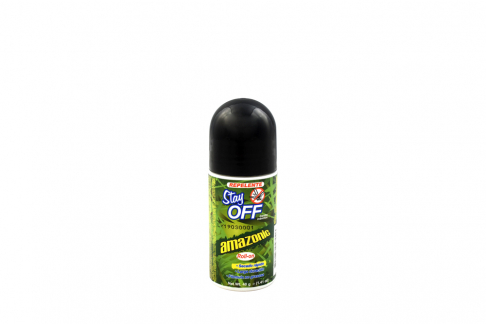 Repelente Stay Off Amazonic Roll-On Con 40 g